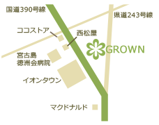 店舗詳細地図